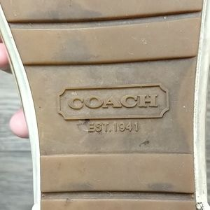 Coach Shoes - 🌵 Coach Rain Boots Size 10